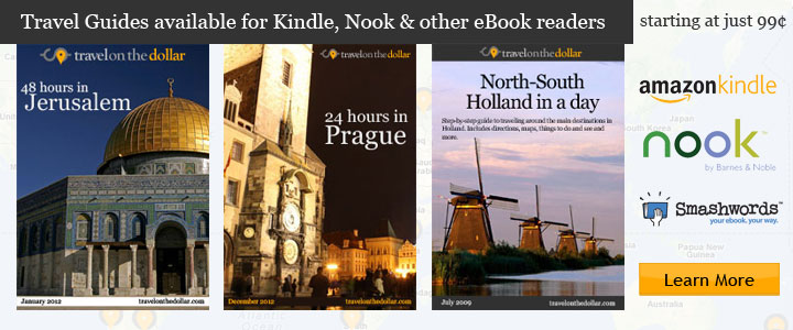Over 45 Walking Tour guides for Kindle, Nook, iBookstore in various languages