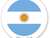 Flag Sticker of Argentina