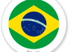 Flag Sticker of Brazil