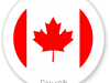 Flag Sticker of Canada