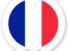 Flag Sticker of France