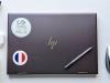 Flag Sticker of France on laptop