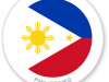 Flag Sticker of Philippines
