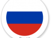 Flag Sticker of Russia