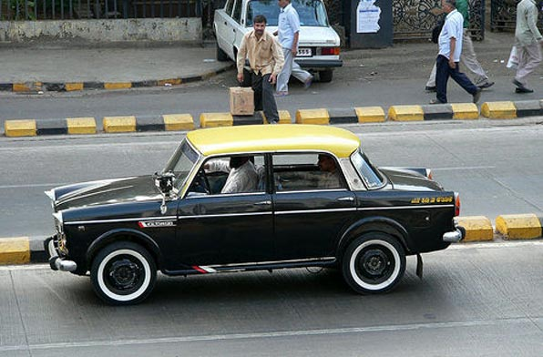 Yellow & Black Taxi