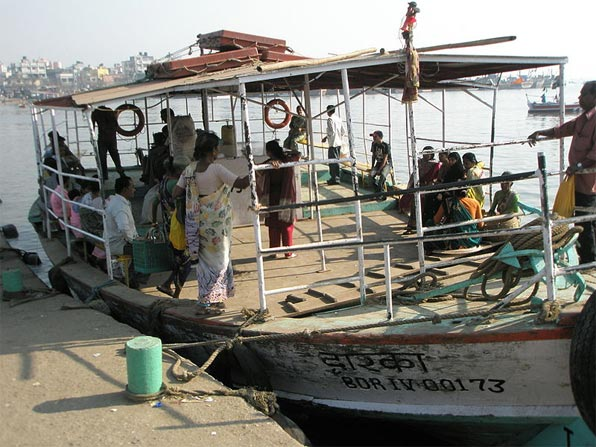 Ferry from Versova to Madh