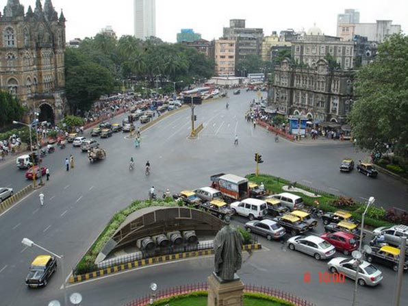 Mumbai Traffic Intersection
