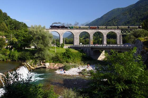 Bohinj Railway – Jesenice to Sezana, Slovenia
