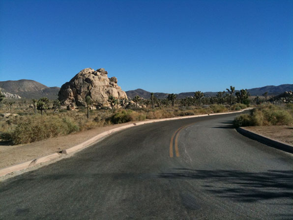Joshua Tree National Park - Park Blvd