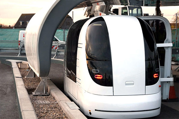 the ULTra Personal Pods are being rolled out at Heathrow Airport / ULTra (Source: ULTra)