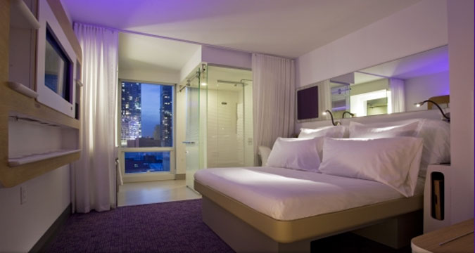 Yotel in Manhattan
