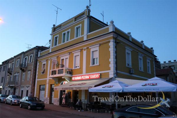 Giardin restaurant, Zadar