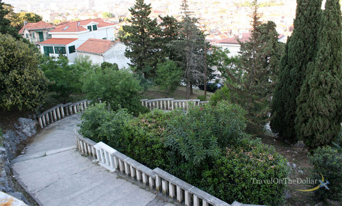 Steps of Marjan Hill