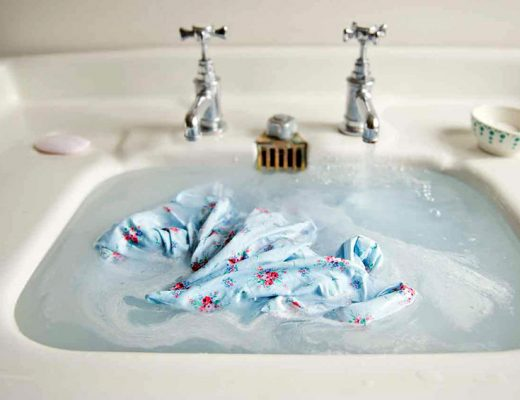 Tips: Travel light by washing clothes using laundry soap