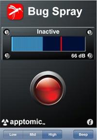 Bug Spray iPhone App