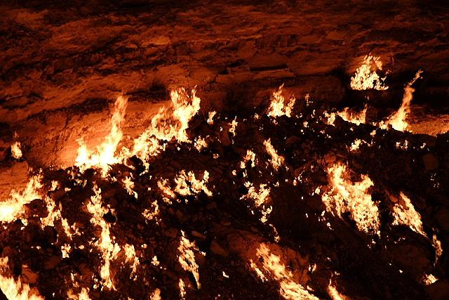 Darvaza - Door to Hell in Turkmenistan