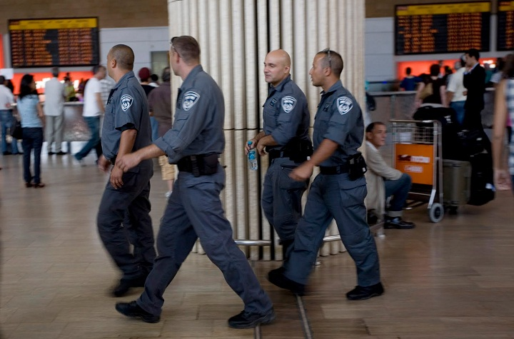Tel Aviv Ben Gurion Airport Security