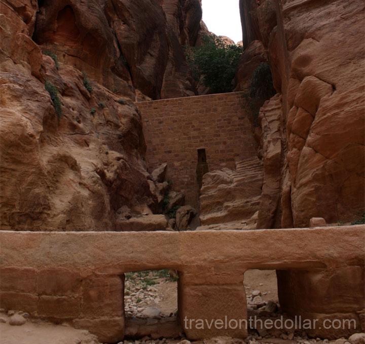 Dam at Petra