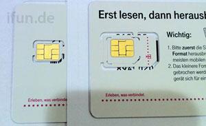 nano-SIM by Telekom