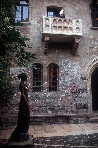 Juliet's Home, Verona