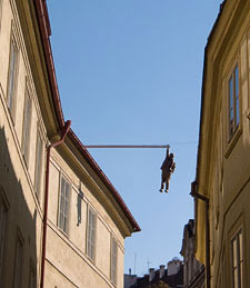 Hanging Man, Prague