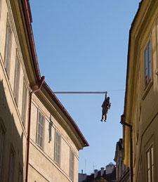 Hanging Man, Prague