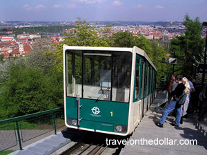 Funicular to Petrin Hill