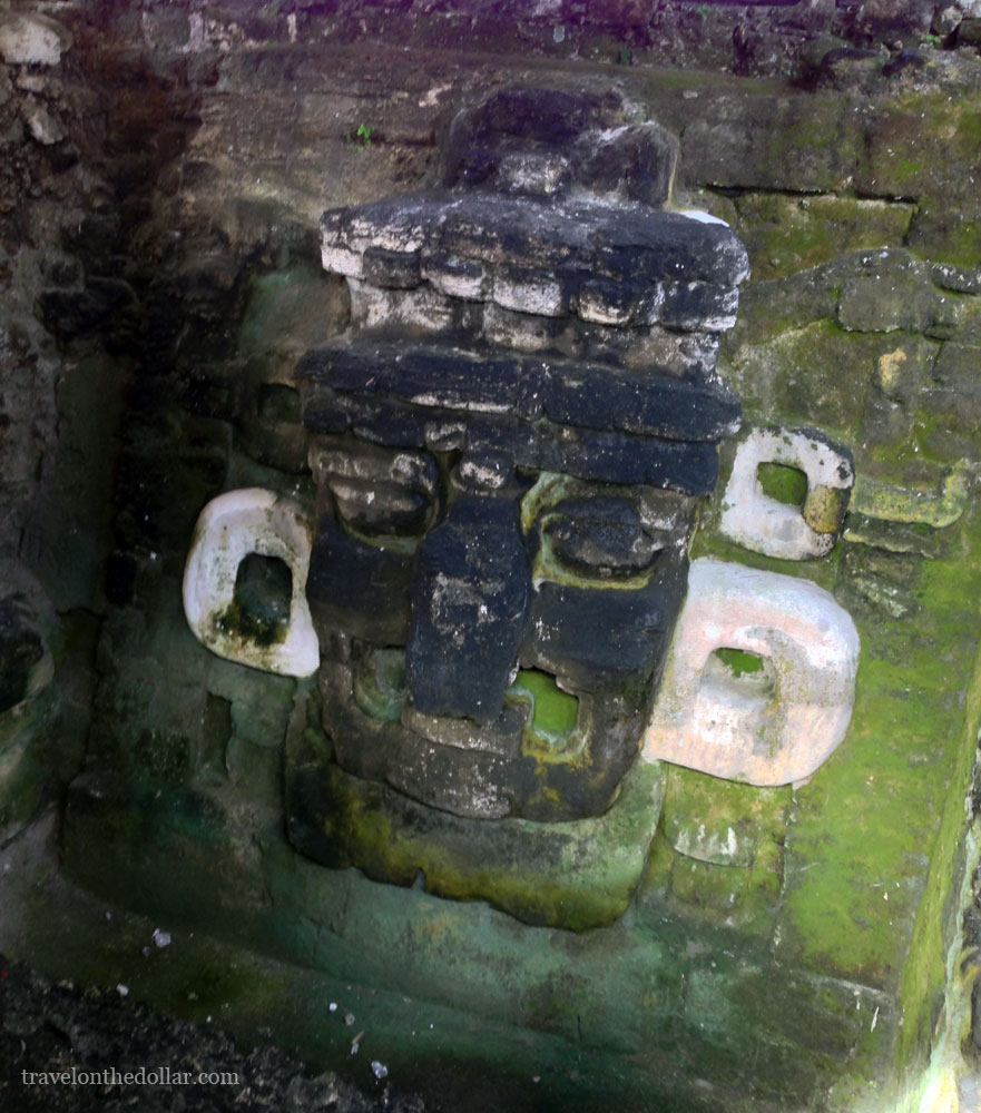 Biggest mask found in Central America