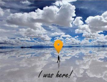 Postcard of Salar De Uyuni, Bolivia