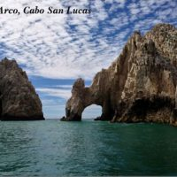 Postcard of El Arco, Baja California, Mexico
