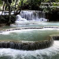 Postcard of Kuang-si Waterfalls, Laos