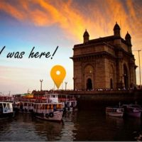 Postcard of Gateway of India, Mumbai, India