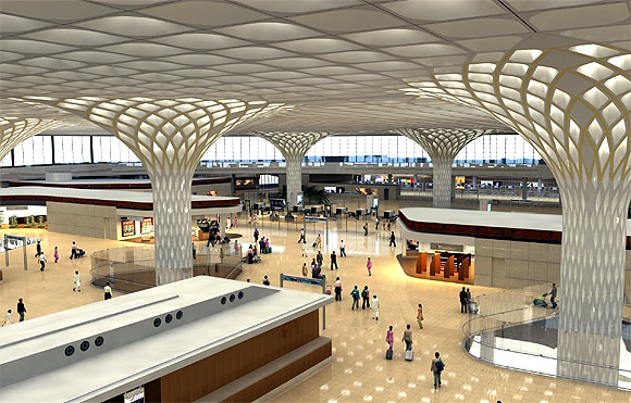 Terminal 2 at Mumbai Int'l Airport