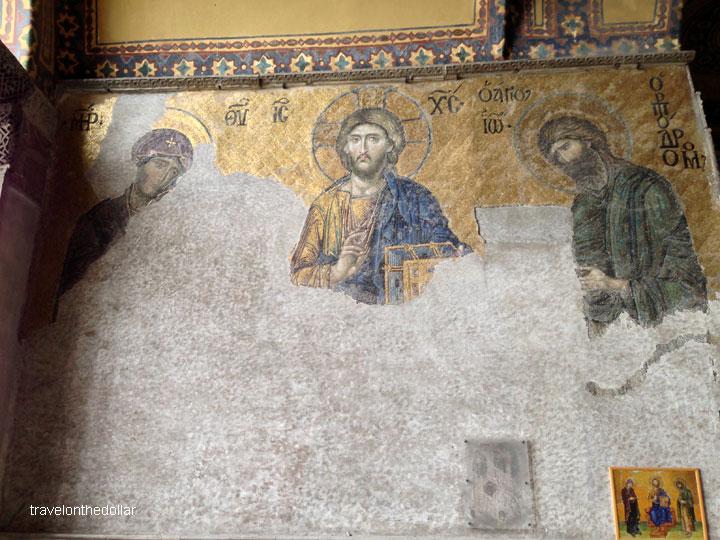 The Deësis mosaic