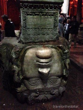 Medusa at Basilica Cistern