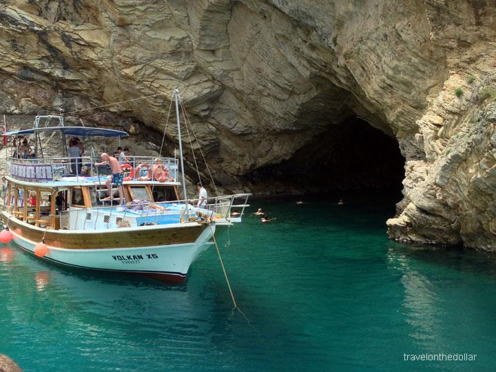 blue cave