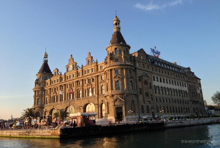 Haydarpaşa station on Asian side