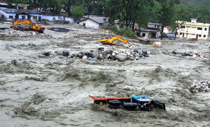 Floods in north India