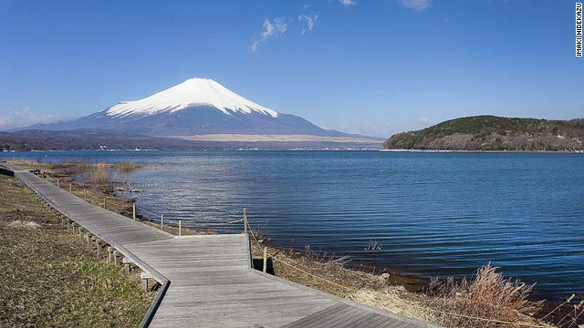 Fujisan, sacred place and source of artistic inspiration (Japan)