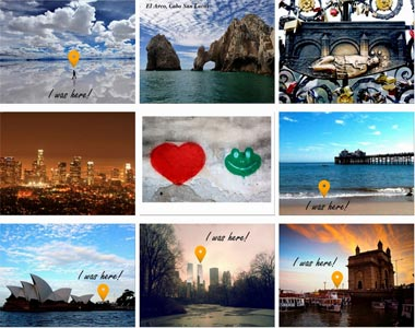 Beautiful travel postcards for purchase