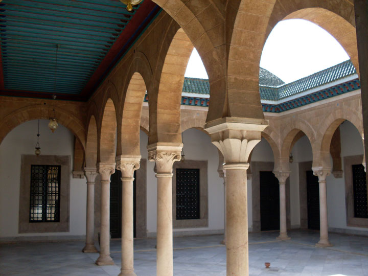 Inside of Mosquee Sidi Mahrez
