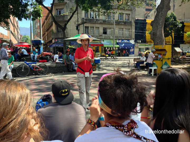 Take the free walking tour if you're visiting Medellin in Colombia