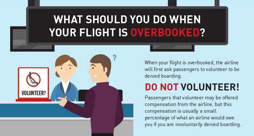 Travel tip: Don't do this if your flight is overbooked