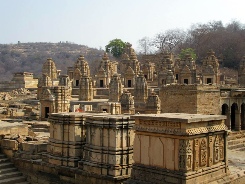 The gorgeous temples of Bateshwar, Padavali, and Mitaoli in India