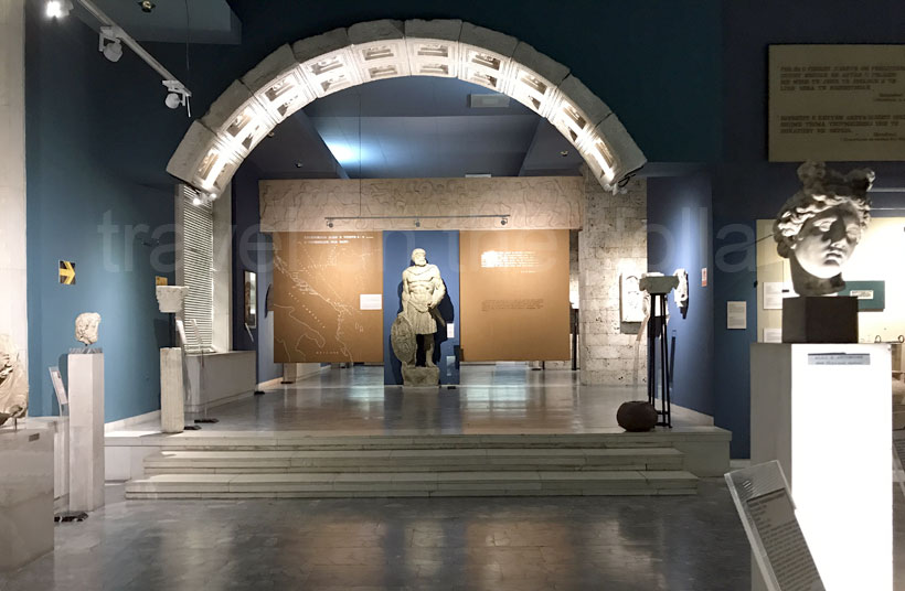 Inside the National History Museum, Tirana