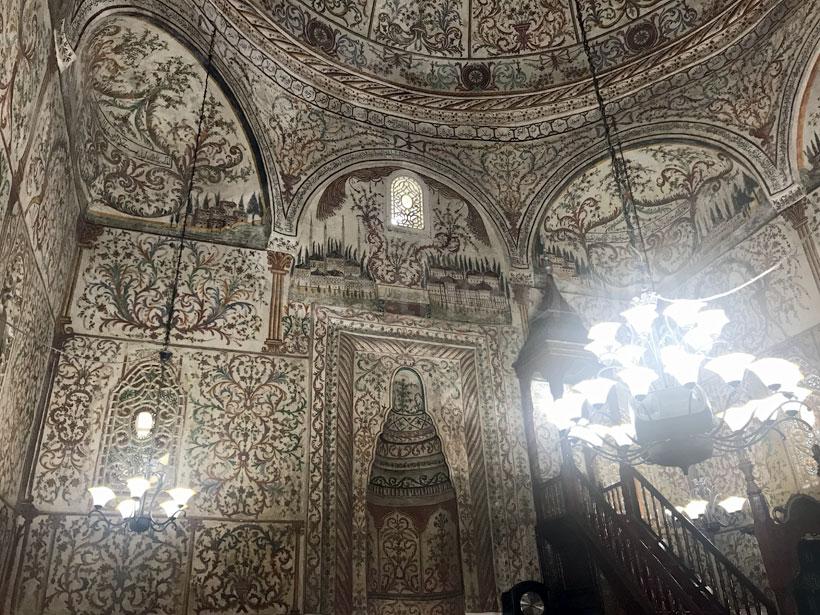 Inside Et'hem Beg Mosque