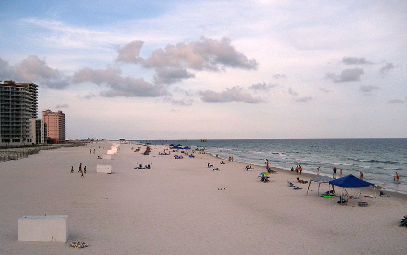 Gulf Shores Main Public Beach, Alabama