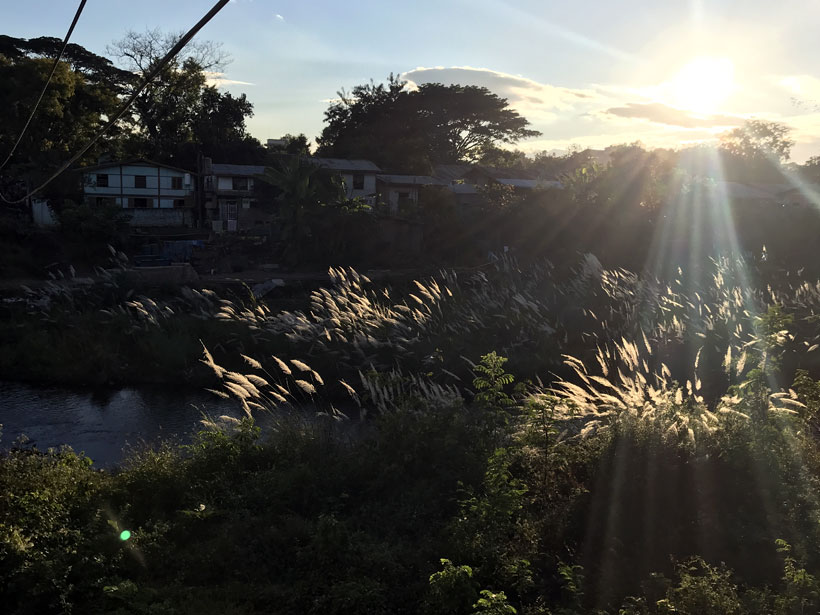 Sunset in Hsipaw