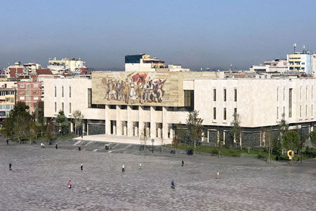Self-guided walking tour of Tirana, Albania