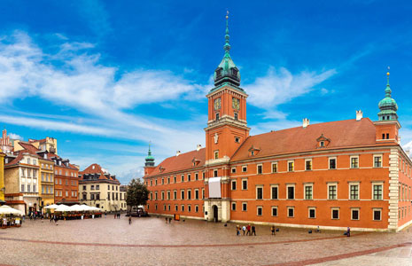 Self-guided Walking Tour of Warsaw, Poland